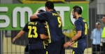 Asteras Tripolis players celebrate